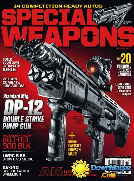 special weapons usa september october