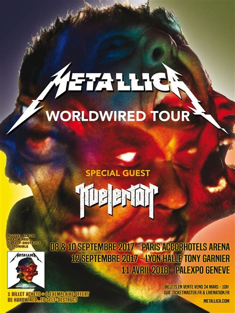 metallica paris 2019 agenda concerts metal metallica world tour 2018 11 04
