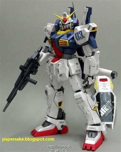 Gundam Papercraft Pdf - gundam mkii papercraft paperkraft net free papercraft