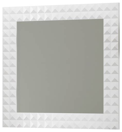 contemporary bathroom wall mirrors 32 quot wall framed mirror white contemporary
