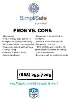 simplisafe vs iris which no contract security system is