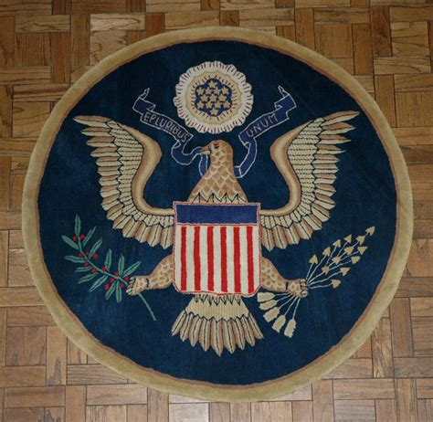 presidential seal rug the great seal wool accent rug