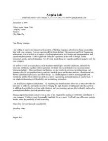 well engineer cover letter resume cover letter