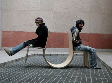 see saw bench swingers see saw or furniture designbuzz
