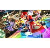 Mario Kart 8 Deluxe Video Game Luigi Bowser Princess Peach