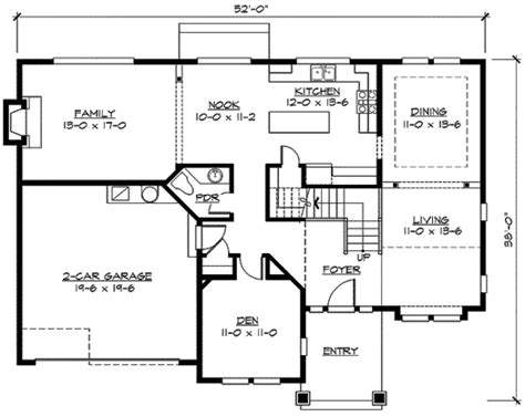 mission style in two versions 36346tx 2nd floor master suite butler walk in pantry cad craftsman house plan in versions 23420jd 2nd floor