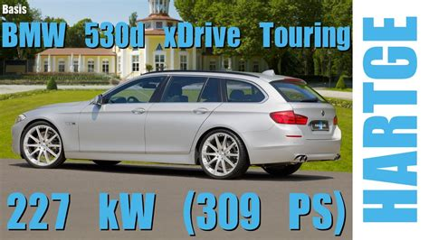 Tieferlegung Bmw F11 Xdrive by Bmw 530d Xdrive Touring F11 Test Drive With Hartge Engine