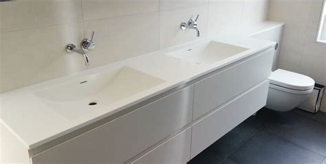 worktop bathroom corian bathroom shelves and custom made corian basins in
