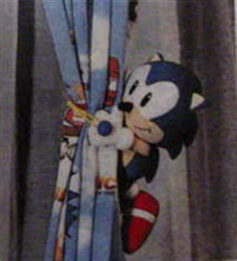 sonic the hedgehog curtains sonic the hedgehog home decor of japan