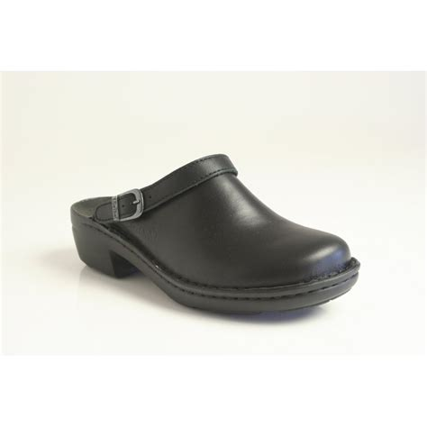 wedge clogs for josef seibel betsy design clog in black leather with