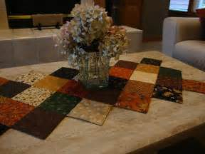 you to see stitch in the ditch quilted table runner
