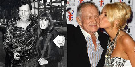 Hugh Hefner To Osbourne We Cant Airbrush That Much Honey by Hugh Hefner S Playmate Girlfriends Popsugar