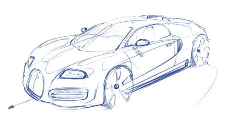 bugatti drawing sketch practice bugatti veyron bksketch