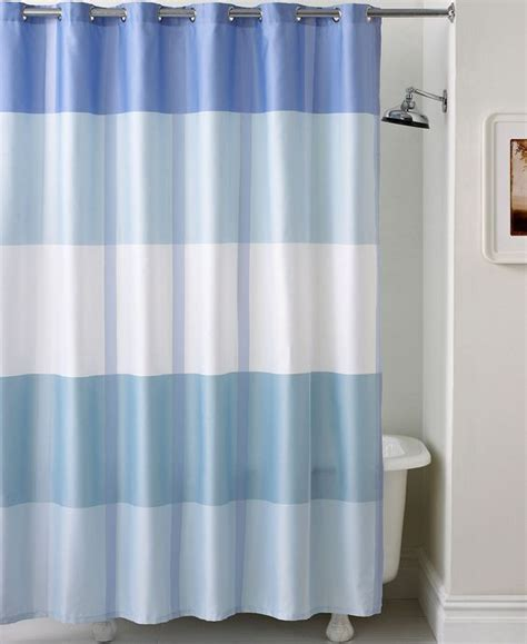 encore curtains martha stewart collection encore stripe shower curtain