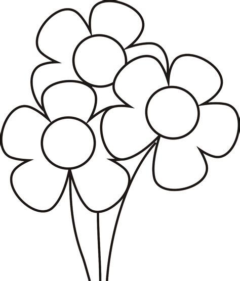 imagenes de flores sin pintar dibujos de flores para colorear dibujos para ni 241 os