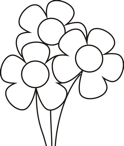 imagenes para pintar de flores dibujos de flores para colorear dibujos para ni 241 os