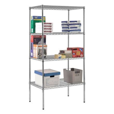nsf wire shelving sandusky 36 x 24 in nsf chrome wire shelving shelving at hayneedle