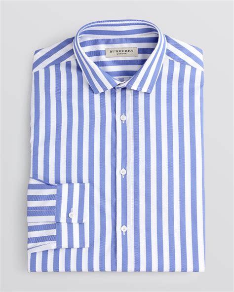 Stripe Shirt lyst burberry halesbury awning stripe dress shirt