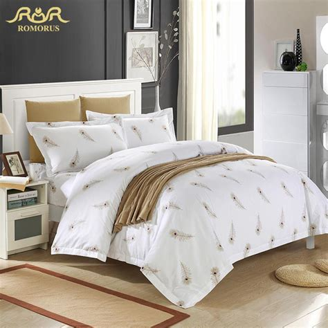 white hotel bedding aliexpress com buy luxury white hotel duvet cover set