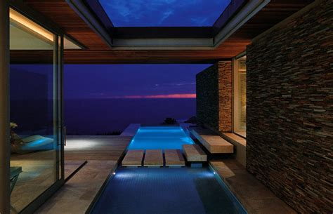 indoor lighting ideas contemporary vacation home cove 6 designed by saota