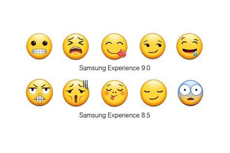 samsung  finally updating  terrible emoji  verge