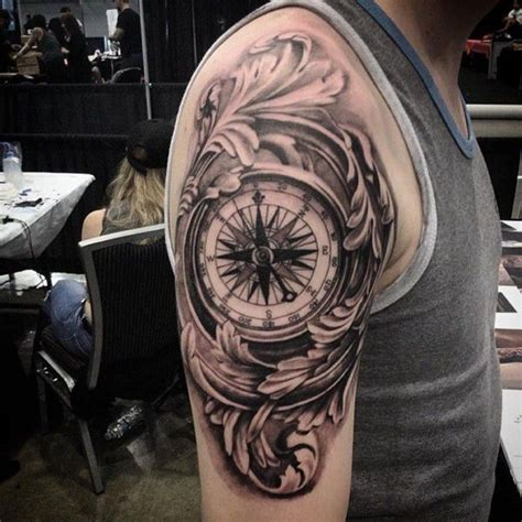 the world is yours tattoo design 110 best compass designs
