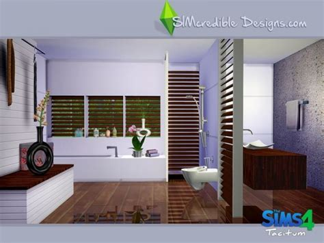 sims resource tacitum bathroom  simcredibledesign sims  downloads