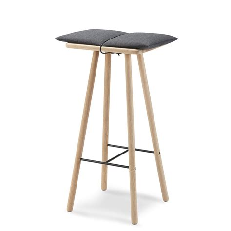 Bar Stools High by Skagerak High Georg Bar Stool Oak Hus Hem