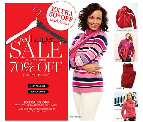 Talbots E Gift Card - talbots now up to 70 off shop red hanger sale milled