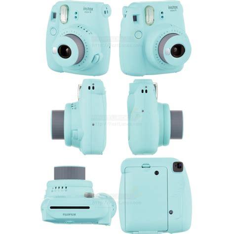 Fujifilm Kamera Instax Mini 9 Blue fujifilm instax mini 9 polaroid blue