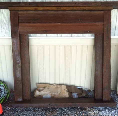 faux wood fireplace mantel faux mantel from wood there is no place like home