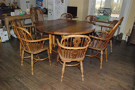 Circular Elm Yew Dining Table Real Wood Studios Yew Dining Room Furniture