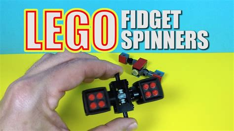 lego hand tutorial 3 more lego fidget spinner ideas for you to try lego