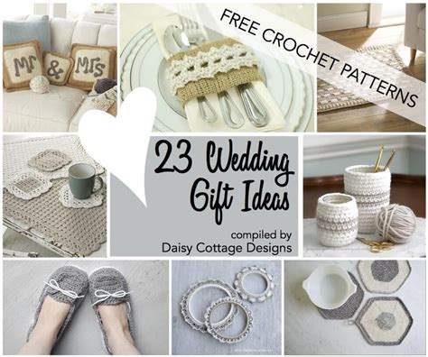 Wedding Gift Ideas For by Wedding Crochet Patterns 23 Free Crochet Patterns