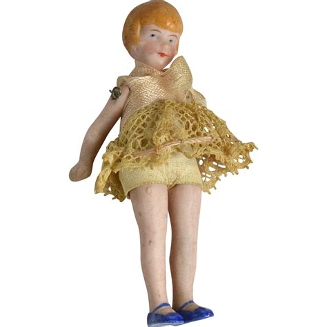 bisque flapper doll all bisque flapper doll 3 1 4 quot all original from