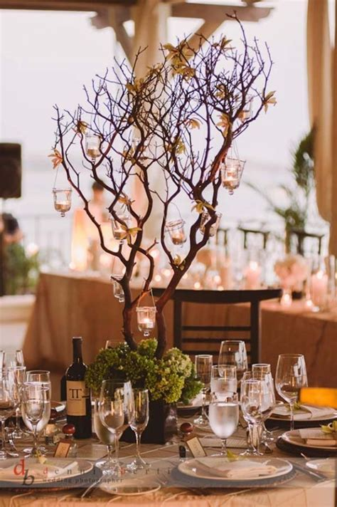 25  best ideas about Tree branch centerpieces on Pinterest