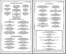 Free menu menu templates menu items vintage menus simple menu