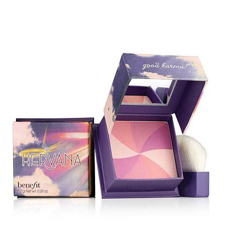 benefit hervana box o powder blush 6613273 hsn