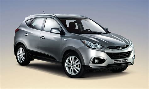 Hyundai Ix35 by View Of The Hyundai Ix35 Released