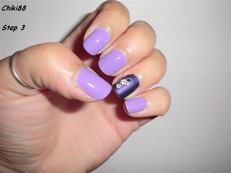 tutorial nail art pita tutorial nail art bicolor nails