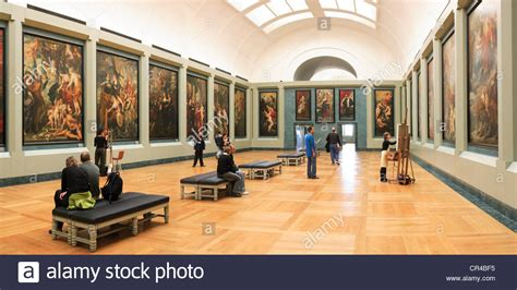 rubens room the louvre museum rubens room stock photo royalty free image 48654681 alamy