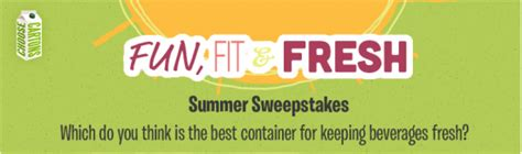 Rei Com Gift Card - choose cartons fun fit fresh sweepstakes win a 100 rei gift card