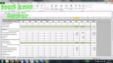 best excel templates for budgets household budget excel spreadsheet 2015 s best free