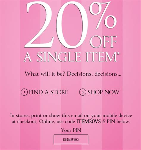 Can You Use Victoria Secret Gift Card At Pink - victoria s secret coupons codes july coupon codes blog