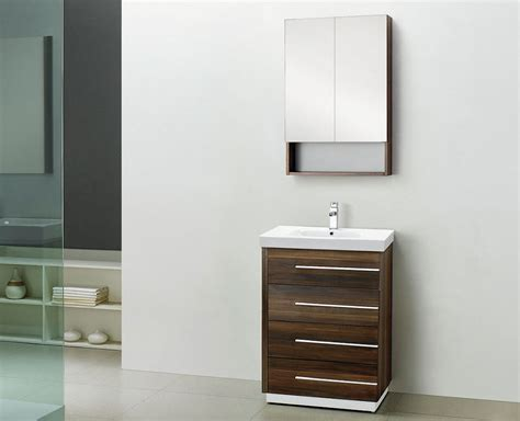 Design Inch Bathroom Vanity Ideas Bathroom Recessed Medicine Cabinet Design Ideas With White Wall Plus Chestnut Wooden 30 Inch