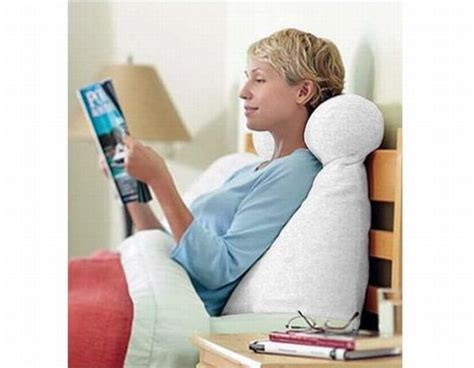 work in bed pillow eight innovative bed pillows for a relaxing posture hometone