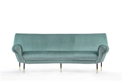 curved sofa by gigi radice for sale at 1stdibs
