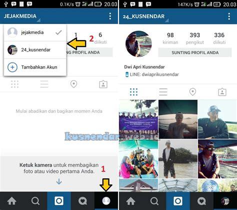 cara membuat akun instagram dari hp android cara login dua akun instagram di 1 hp android tanpa