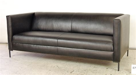 Made Leather Sofa Custom Made Contemporary Leather Sofa By Pacific Mfg Co Custommade