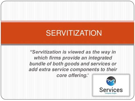 Advantages Of Integrated Mba by Competitive Advantage Through Servitization